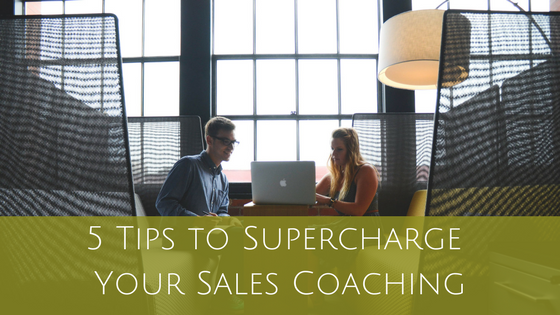 You are currently viewing 5 Tips to Supercharge Your Sales Coaching
