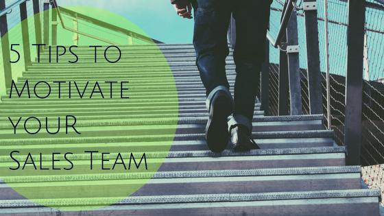 5 Tips to Motivate Your Sales Team